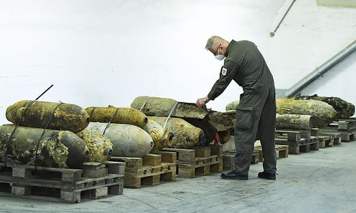 265 Tonnen Kriegsmaterial in Österreich geborgen