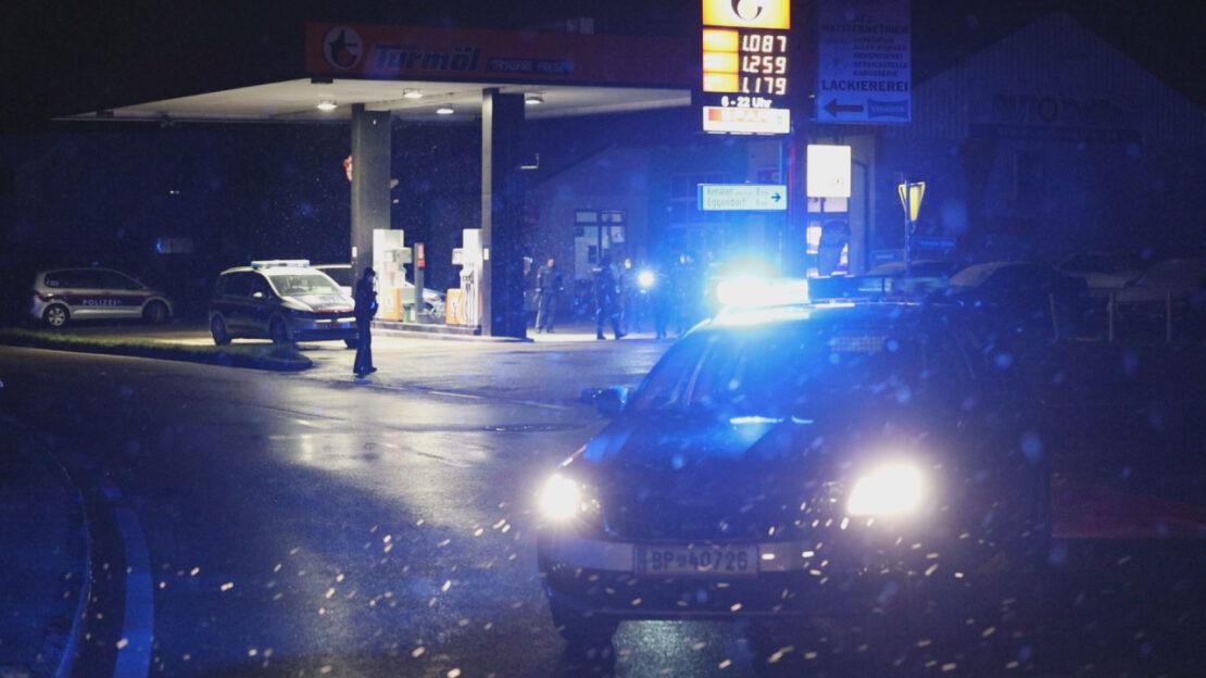 Schüsse bei Einbruch: Nächtlicher Großeinsatz der Polizei in Sipbachzell