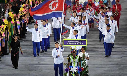 Nordkorea nimmt nicht an Olympischen Spielen teil