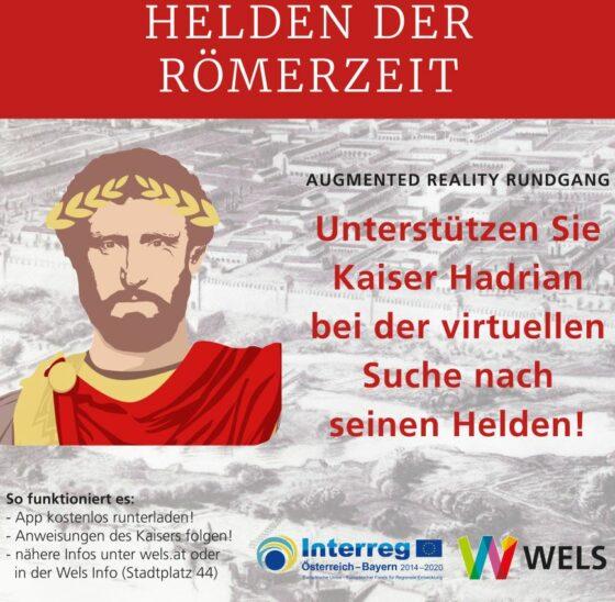 Ihr wollt einen Rundgang in die römische Vergangenheit erleben?