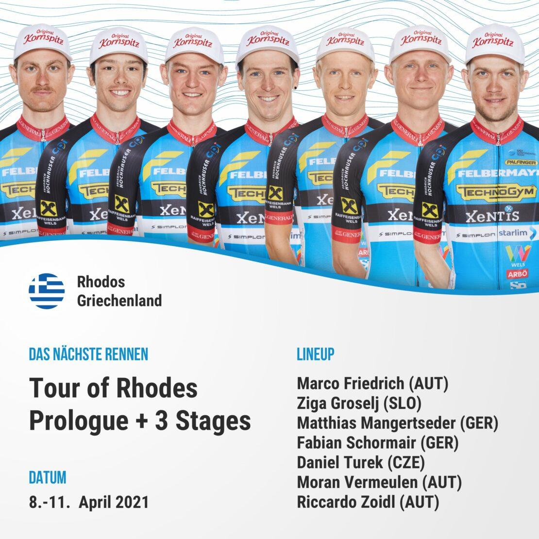 Tour of Rhodes
