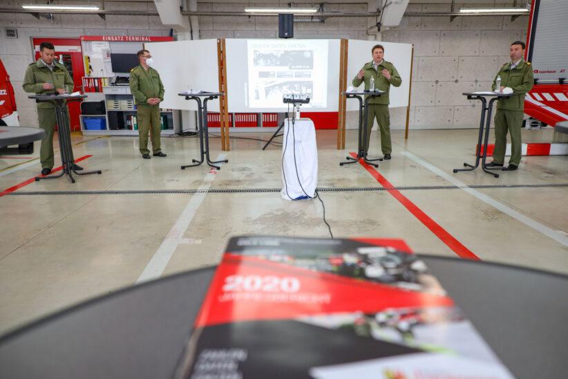 2.846 Einsätze: Bezirksfeuerwehrkommando Wels-Land präsentierte Jahresbericht für das Jahr 2020