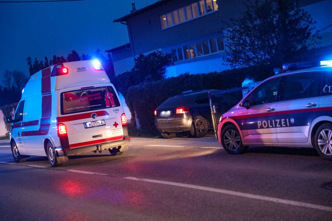 Notarzteinsatz nach Verkehrsunfall in Schleißheim