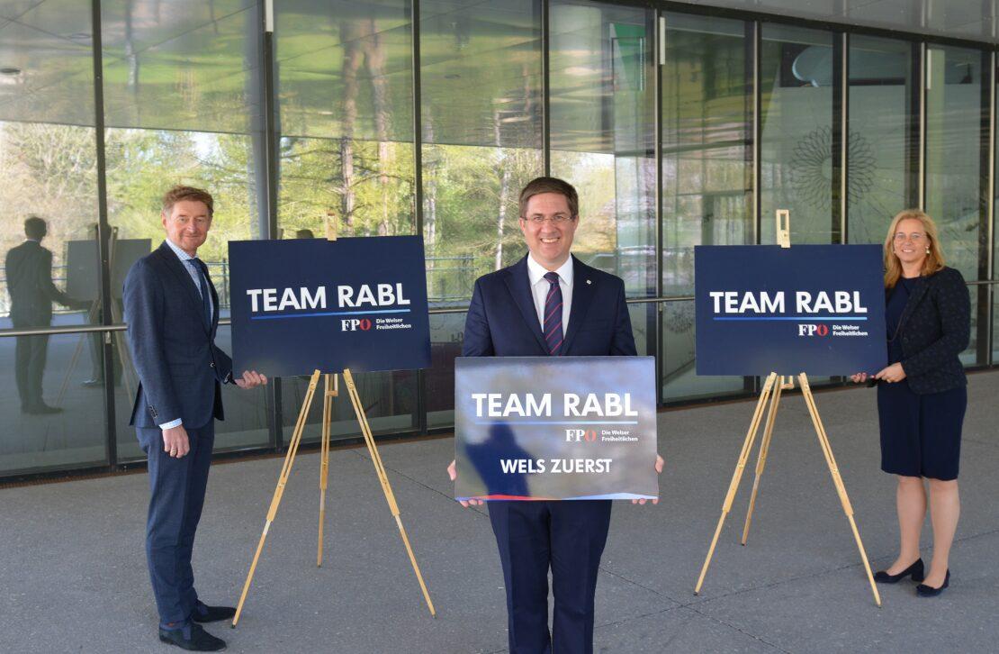 FPÖ Wels kandidiert als Team Rabl
