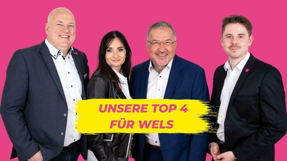 NEOS Wels - mit Ex-ÖVP-Stadtrat zum Wahlerfolg?