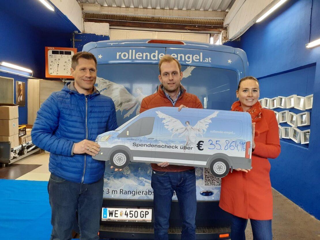 Charity Lauf bringt über 35.000 Euro!