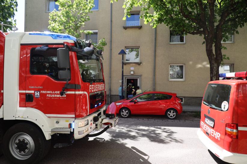 Inversionswetterlage: Rauchverschleppung von einem Kamin zum anderen in Wohnhaus in Wels-Neustadt