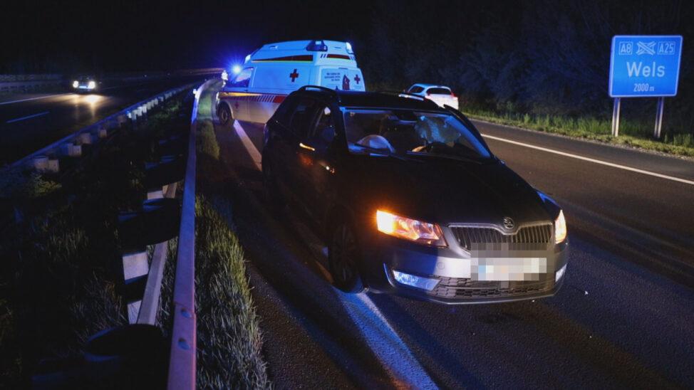 Fünf Verletzte: Geisterfahrerin verursacht schweren Unfall auf Innkreisautobahn bei Krenglbach Online seit heute, 01:06 Uhr
