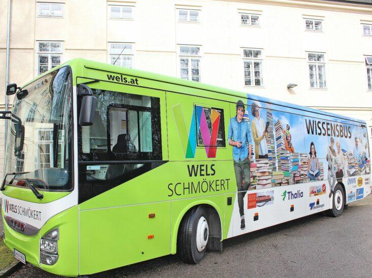 Welser Wissensbus startet mit 1. Juni