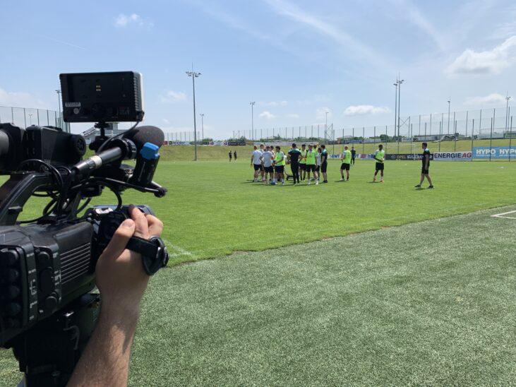 ÖFB U21 trainiert in Wels