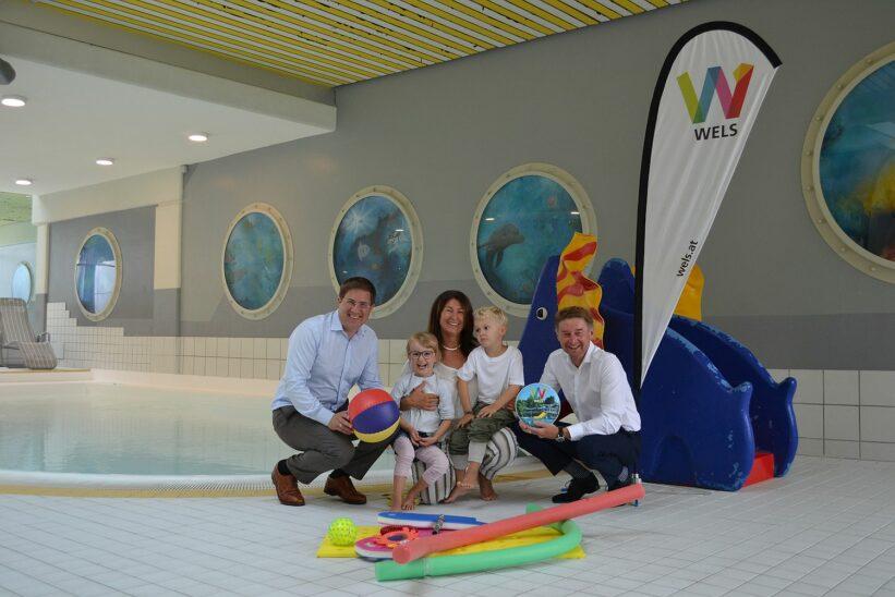 Gratis Schwimmkurse für Welser Schüler