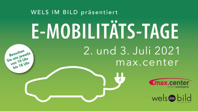 E-Mobilitäts-Tage im max.center!