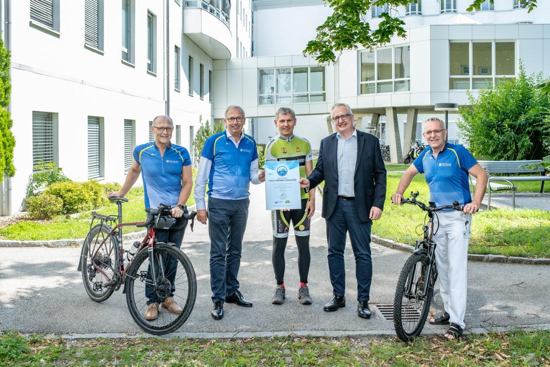 EU-Auszeichnung für Klinikum Wels-Grieskirchen