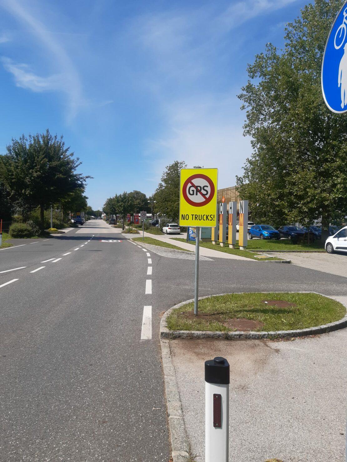 Marchtrenk sagt LKW-Verkehr den Kampf an