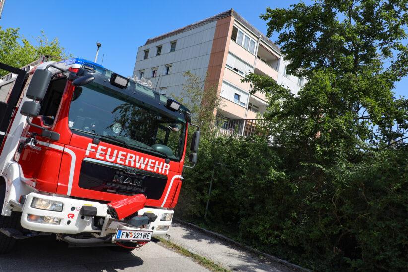 Angebranntes Kochgut löste Einsatz der Feuerwehr in Wels-Vogelweide aus