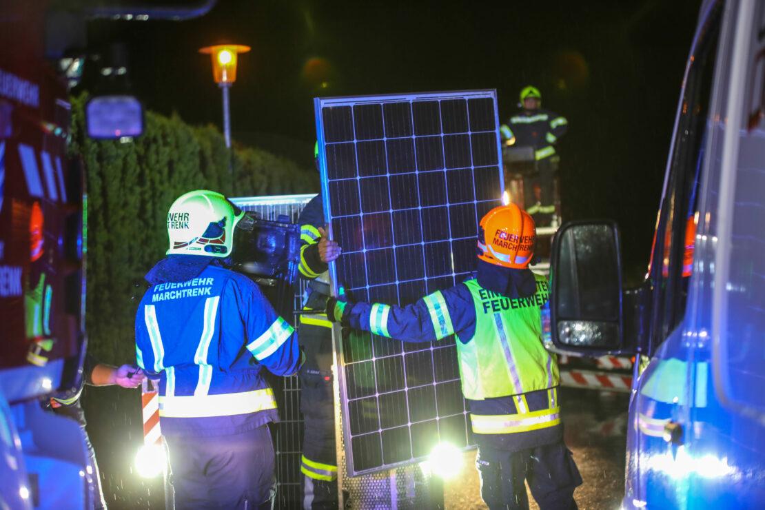 Gewitterfront mit starken Sturmböen sorgte für mehr als 260 Einsätze in Oberösterreich