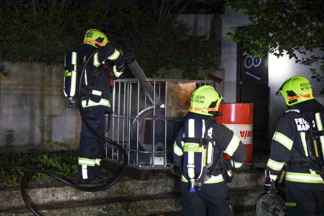 Nächtlicher Brandeinsatz für die Feuerwehr in Marchtrenk