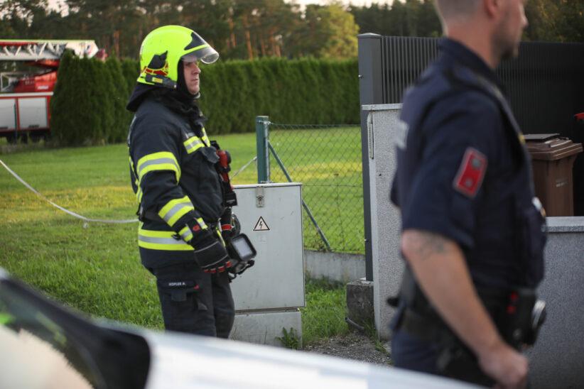Brandeinsatz nach gemeldetem Rauch aus Stromverteilerkasten in Marchtrenk