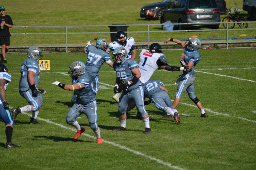 Heimsieg der Huskies vs. BSK Ravens
