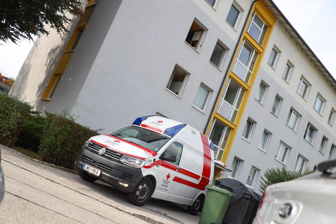 Feuerwehr zu Personenrettung nach Lambach alarmiert
