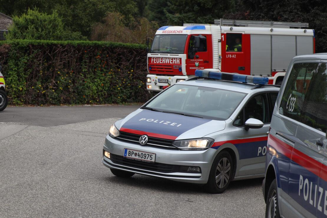 Schwerer Verkehrsunfall in Weißkirchen an der Traun