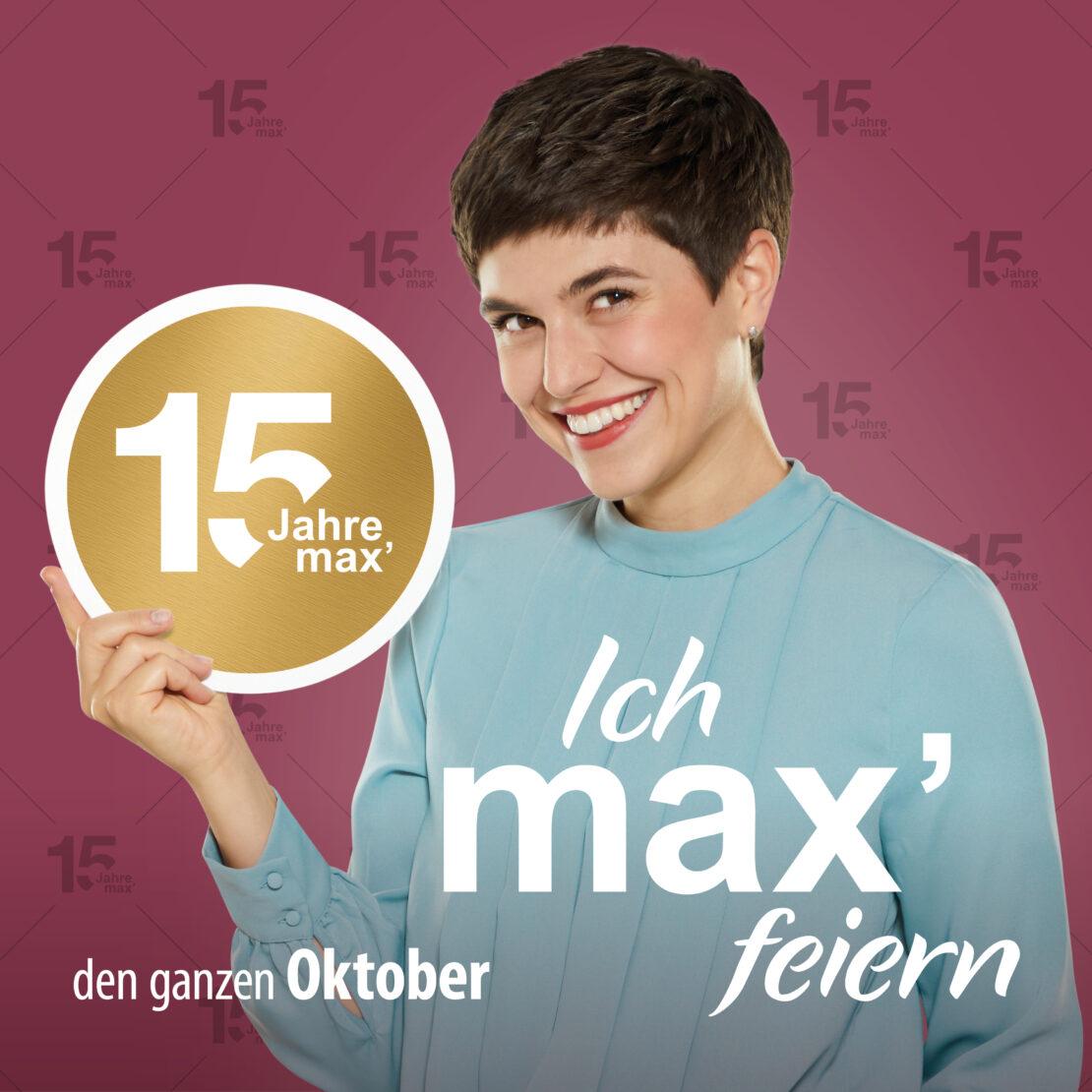 Das max.center feiert Geburtstag - den ganzen Oktober lang
