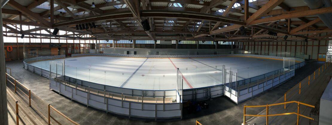 Welser Eishalle eröffnet mit Eis-Disco
