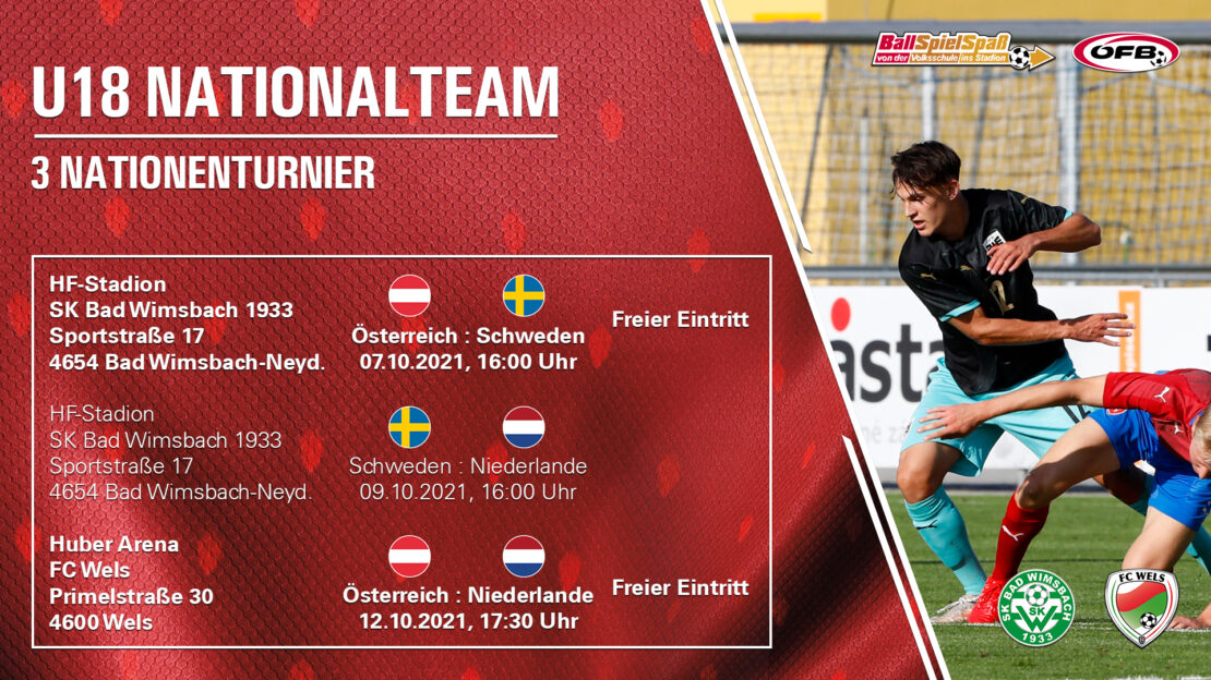 Testspielkracher in Wels: Österreich vs. Holland