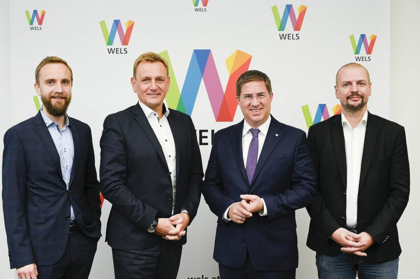 Wels präsentiert Stadtsenat Neu