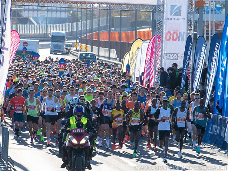 Frauen-Streckenrekord beim Linz-Marathon