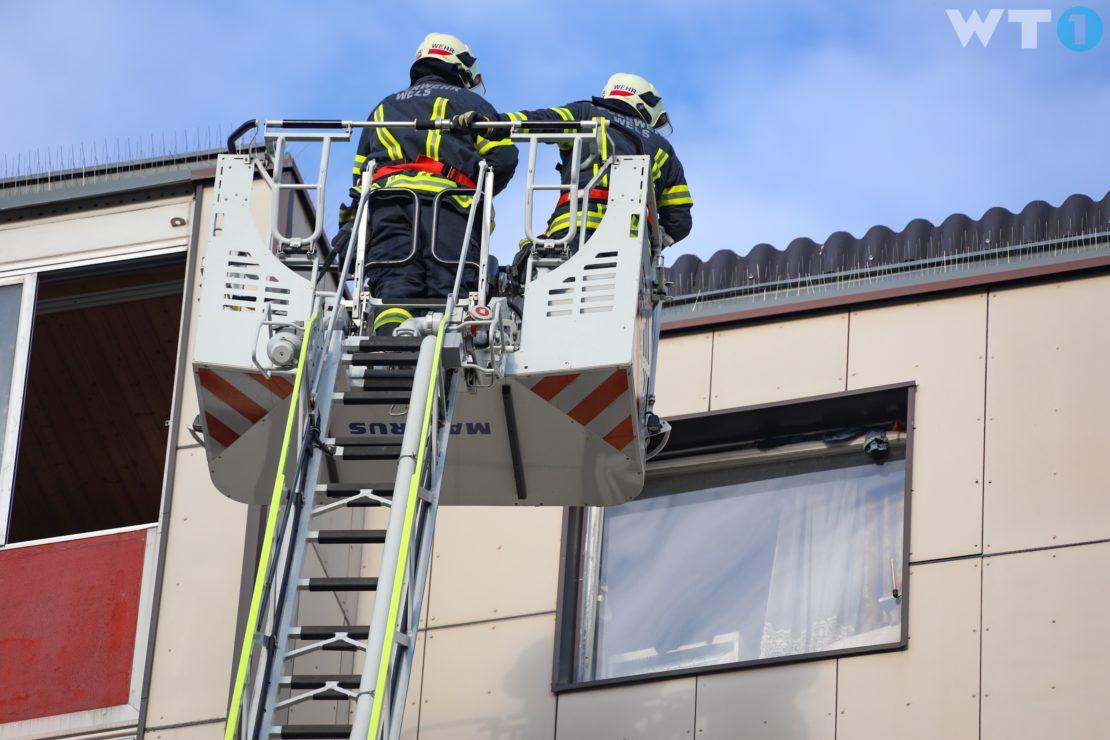 Kochgut in einer Wohnung in Wels-Vogelweide angebrannt