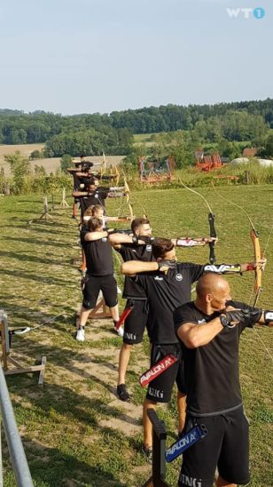 Teambuilding der Raiffeisen FLYERS Wels