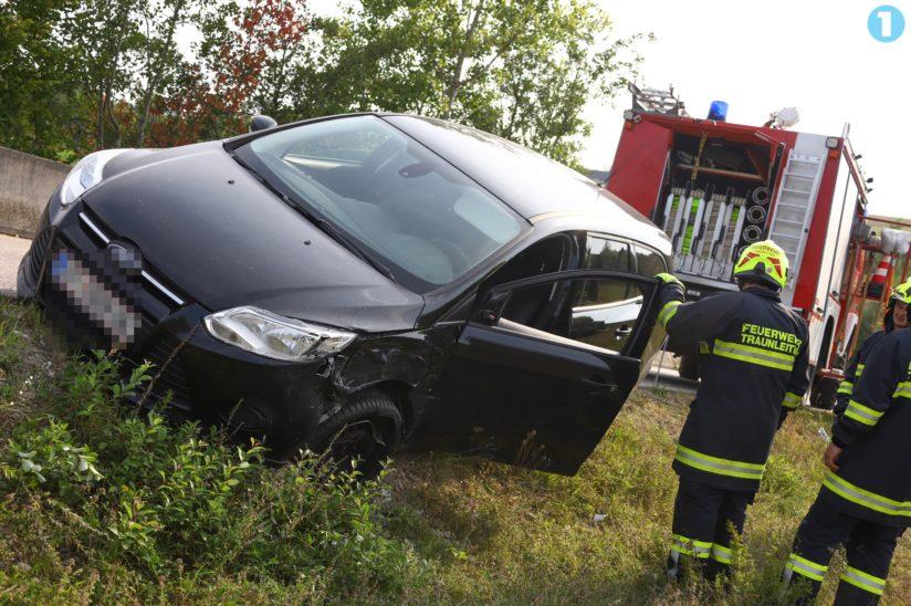 Verkehrsunfall in Steinhaus endet glimpflich