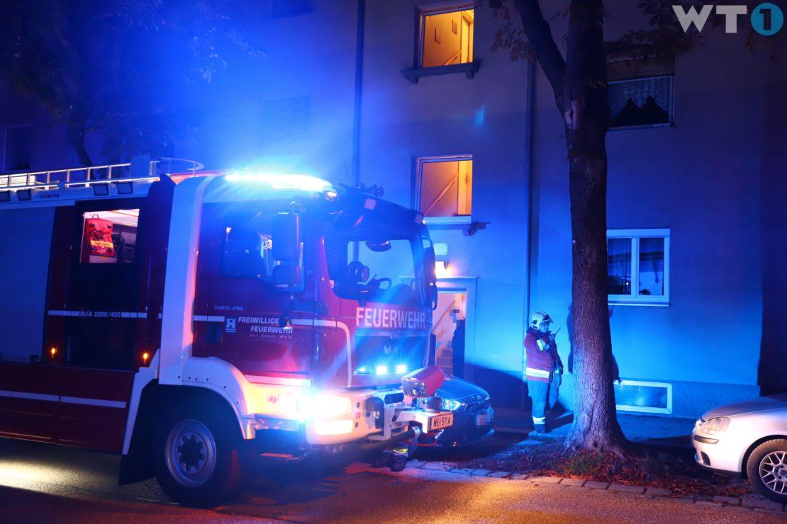 Vermuteter Gasgeruch durch defekte Gastherme in einer Wohnung in Wels-Neustadt