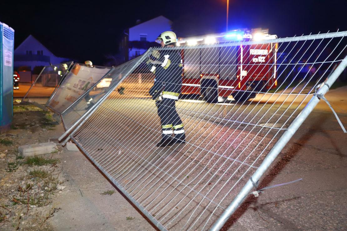 Ausläufer eines Sturmtiefs sorgen für Einsätze der Feuerwehren