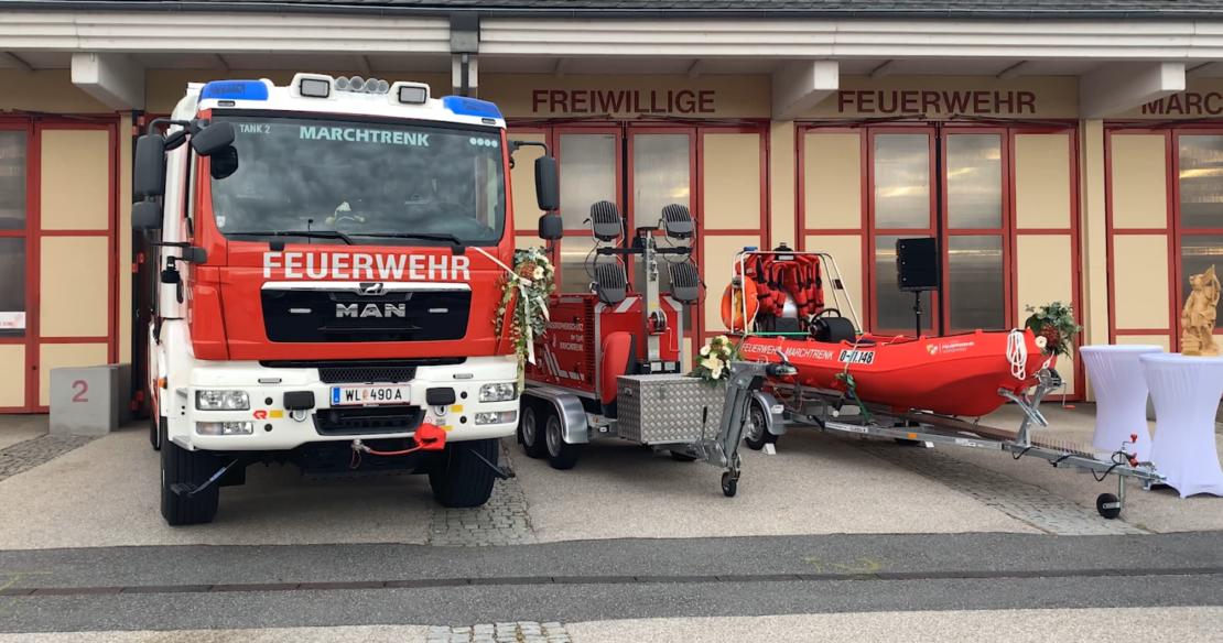 Eröffnung - FF Marchtrenk