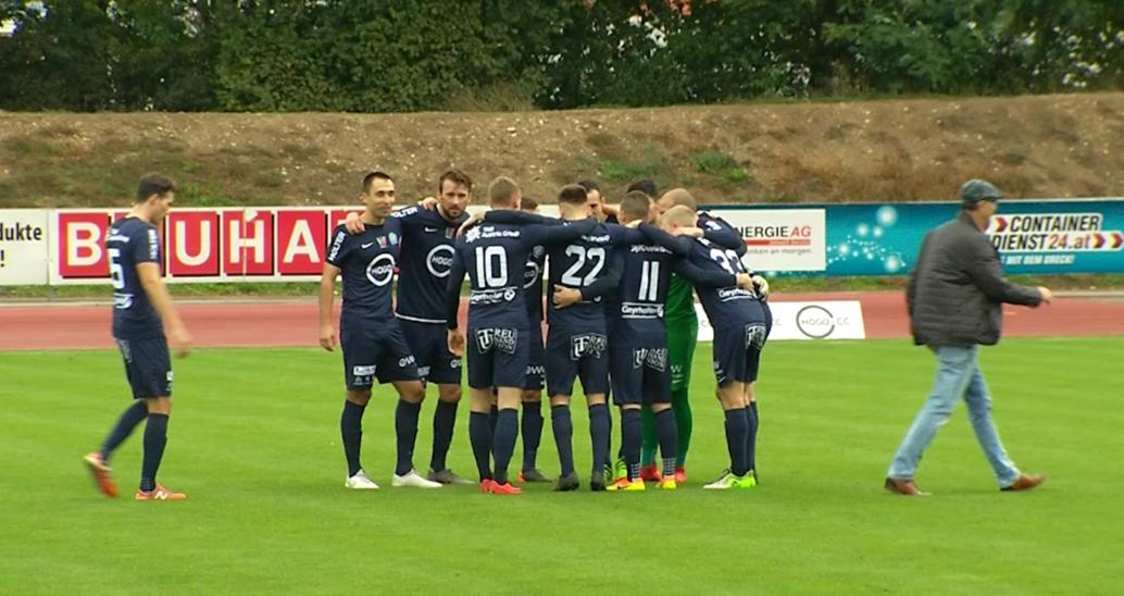 WSC Hertha Wels - wiedergutmachung nach Cup-Pleite