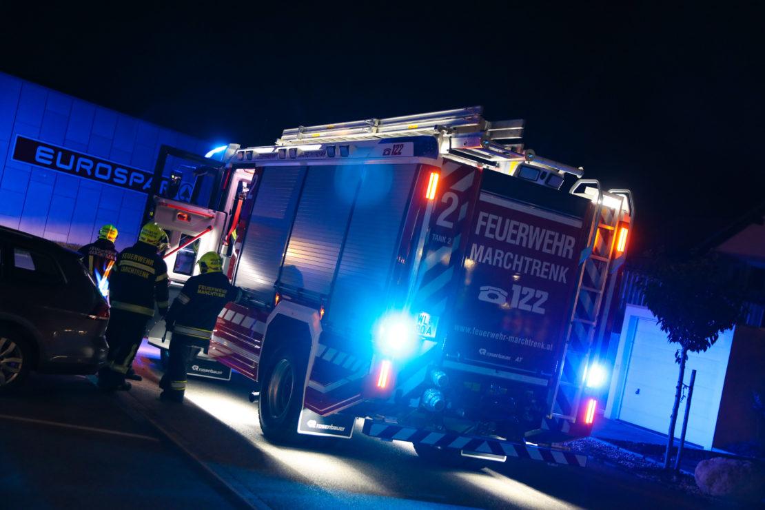 CO-Warnmelder löste Einsatz der Feuerwehr in Marchtrenk aus