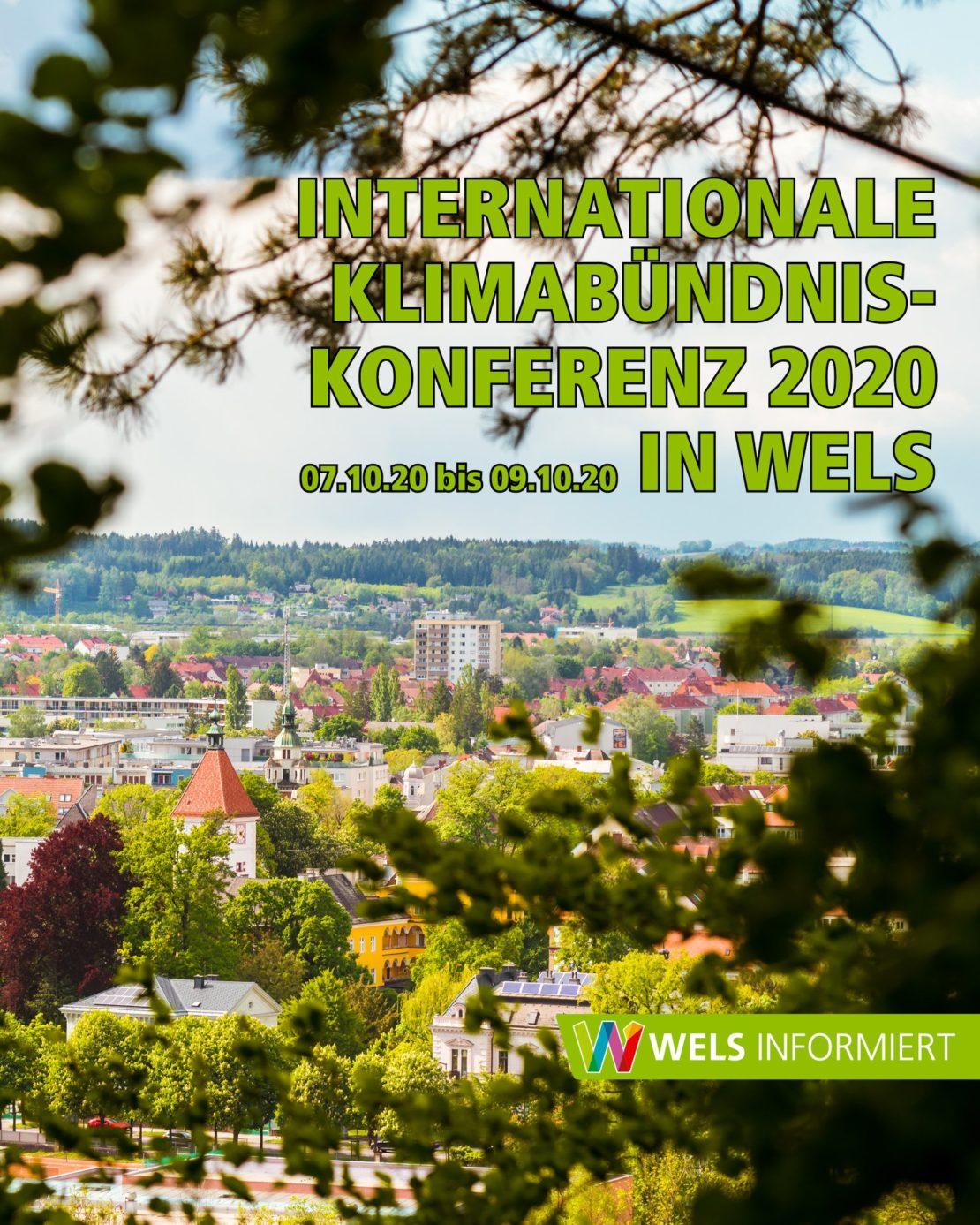 Internationale Klima-Bündnis-Konferenz 2020 in Wels