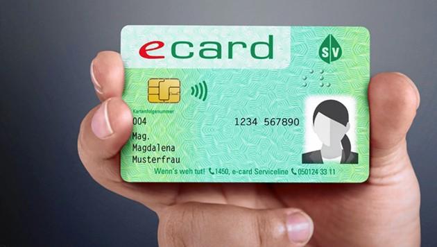 Die neue E-Card mit Foto!