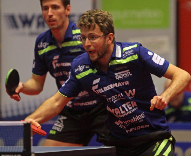 Tischtennisherren unter Druck