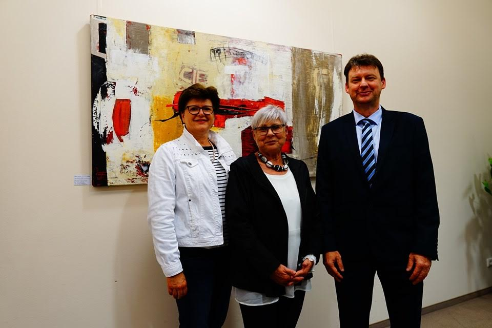 Kunst und Kulinarik am Gemeindeamt