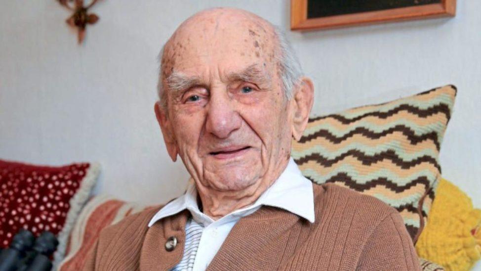 Ältester Mann der Welt feiert 114.Geburtstag