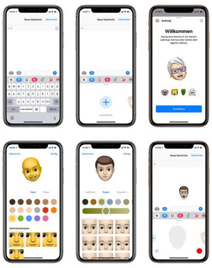 Personalisierte Emojis