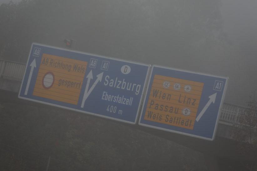 Serienunfall am Knoten Voralpenkreuz in Sattledt fordert mehrere teils Schwerverletzte