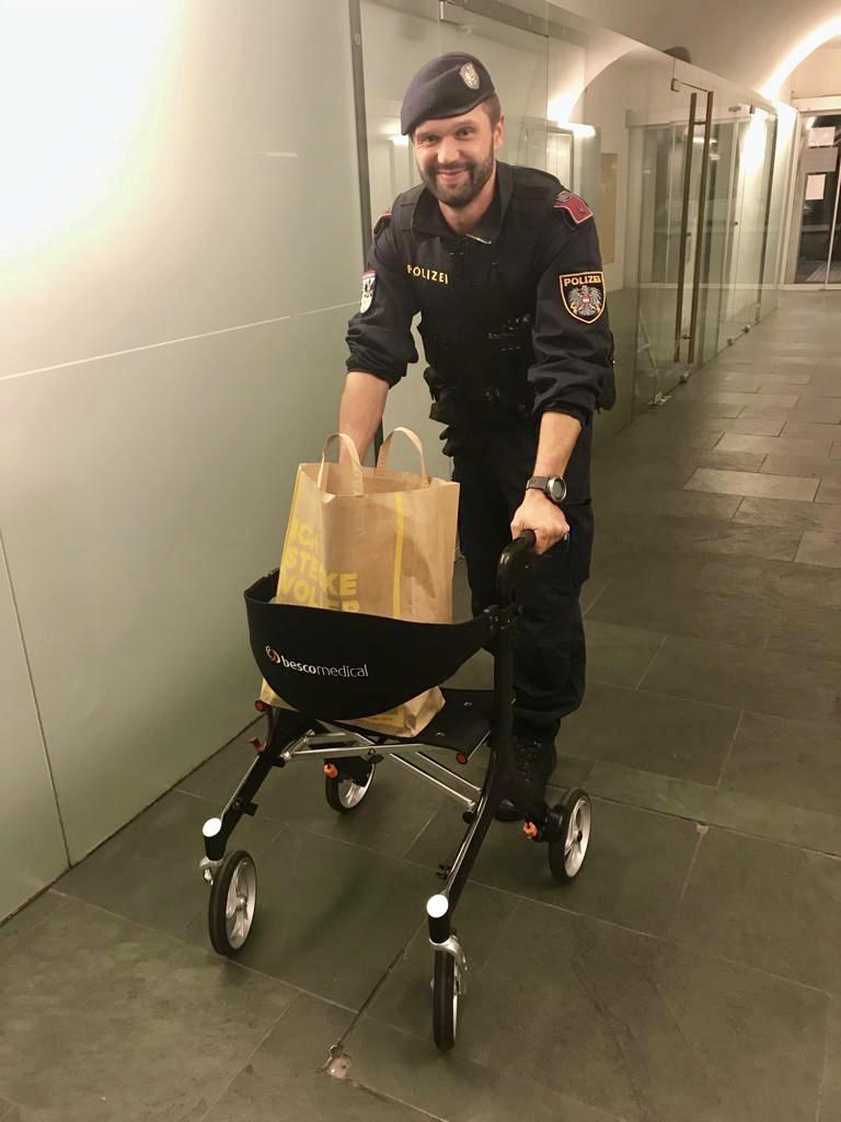 Diebstahl eines Elektrischen Invalidenfahrzeuges