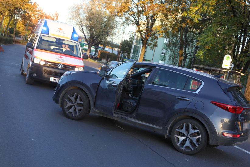 Verkehrsunfall zwischen zwei PKW in Wels-Lichtenegg endet glimpflich