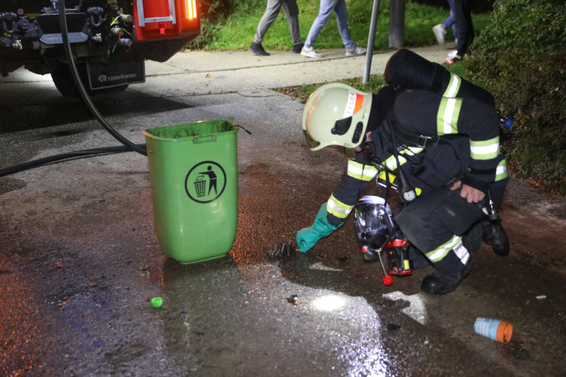 Brand eines Akkus: Einsatz der Feuerwehr in einer Wohnung in Wels-Neustadt