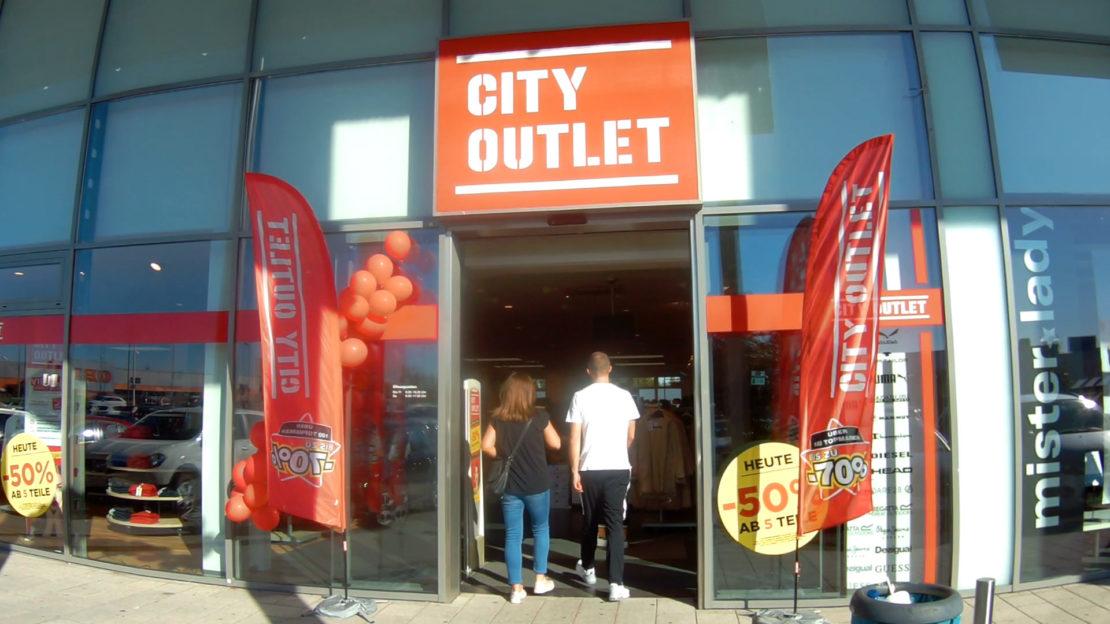 Eröffnung Cityoutlet - Topmarken zu Bestpreisen