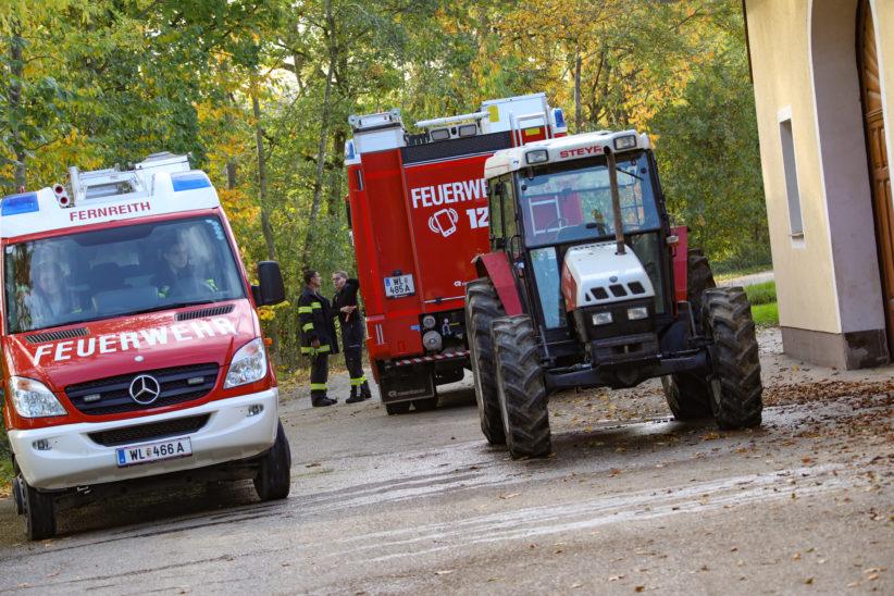 Tödlicher Forstunfall in Gunskirchen